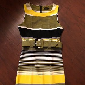 ILE New York sleeveless striped dress